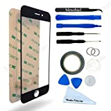 Mmobiel 4.7-Inch Touchscreen Replacement Kit for iPhone 6/6s - Black (12-Items)