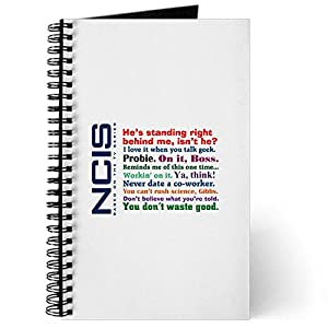 CafePress NCIS Quotes Journal