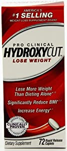 Hydroxycut Pro Clinical 72 Rapid Release Caplets from Hydroxycut