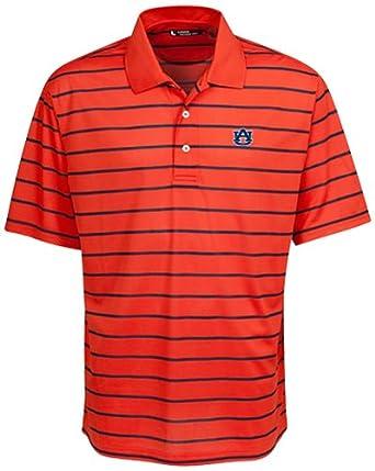 NCAA Auburn Tigers Feed Stripe Polo by Oxford