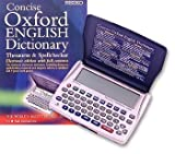 (Seiko) Oxford Dictionary & Thesaurus/Spellcheck (ER6100)