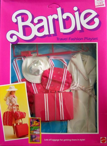 Barbie Travel Fashion Playset w Lage & Outfit (1984)