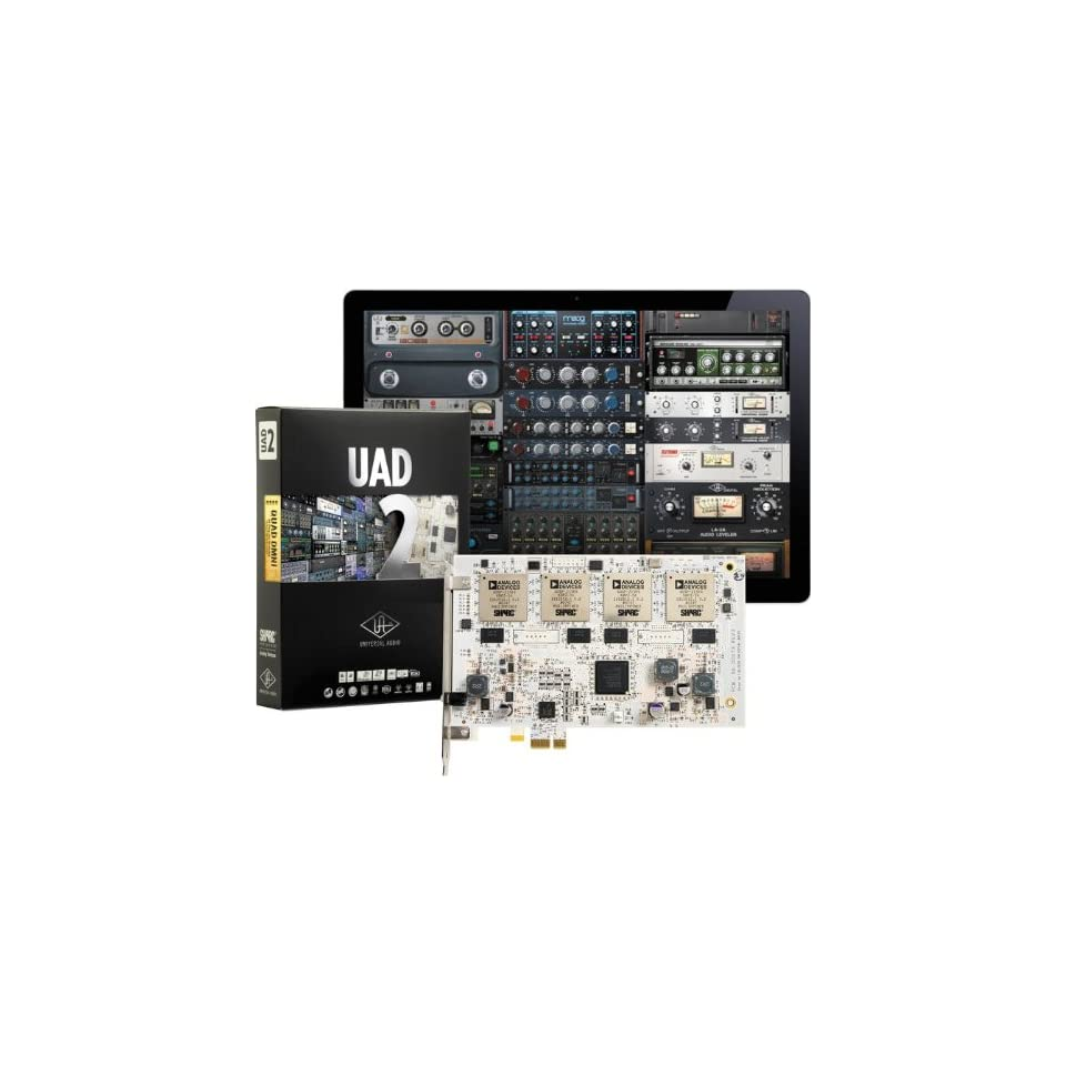 UAD 2 Quad Omni DSP PCIe Audio Plug In Card Musical on PopScreen