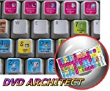 51AqDauE5aL. SL160  NEW SONY CREATIVE SOFTWARE DVD ARCHITECT KEYBOARD STICKERS FOR NOTEBOOK, DESKTOP AND LAPTOP