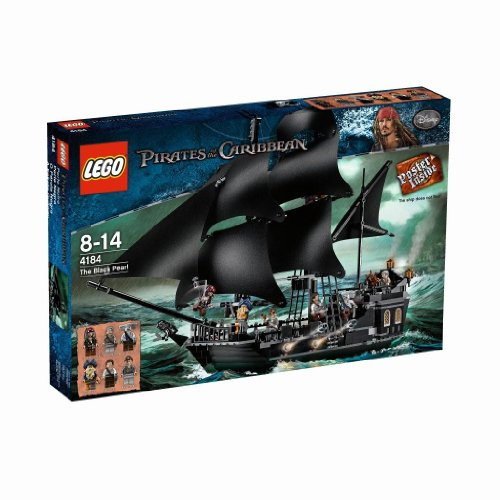 LEGO: Piratas del Caribe: La Perla Negro