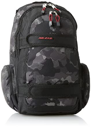 Trailmaker Big Boys' Backpack with Velcro, Camo, One Size