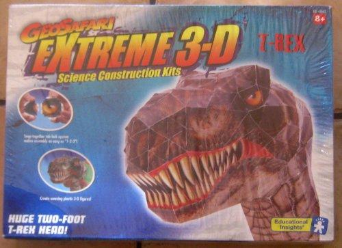 GeoSafari extreme 3d T-Rex Science Construction Kit
