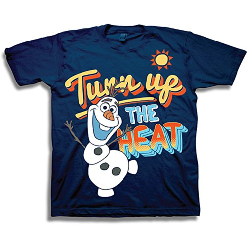Disneys Frozen Olaf Turn up the Heat T Shirt