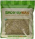 Sunflower Seeds, Raw, Hulled, Organic, 5# Bulk