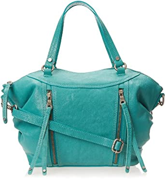 Lucky Brand Tory Satchel Top Handle Bag,Turquoise,One Size