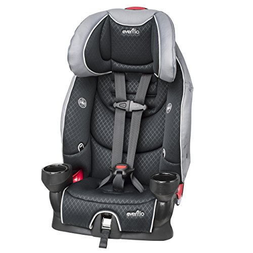 Evenflo Securekid Lx Booster Car Seat, Raven
