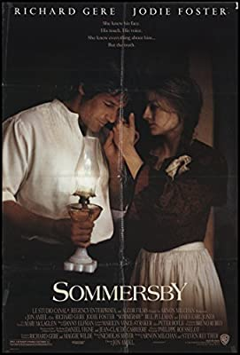 Sommersby 1993 ORIGINAL MOVIE POSTER Drama Mystery Romance - Dimensions: 27