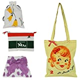 Friends Of Meditation Pack of 4 cotton Bags
