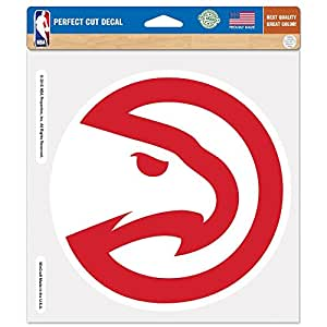 "NBA Atlanta Hawks Perfect Cut Color Decal, 4"" x 4"""