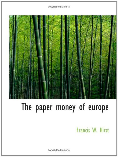 The paper money of europe