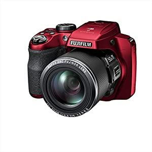 Fujifilm FinePix S9400W / S9450W - 16.2 Megapixel CMOS, 50x Zoom, WiFi Digital Camera with 3.0-Inch LCD Display - Red (Certified Refurbished)