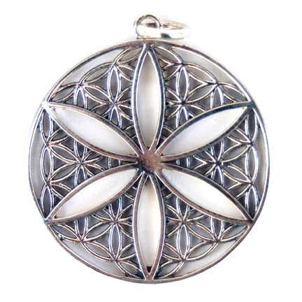 Flower of Life Open Style Pendant
