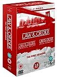 Law & Order - The First Seasons (L&O, L&O SVU, L&O CI) [DVD]