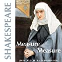 Measure for Measure  by William Shakespeare Narrated by John Gielgud, Ralph Richardson