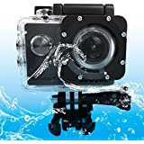 SUNSKY SJCAM SJ4000 WiFi Ultra HD 2K 1.5 Inch LCD Sports Camcorder With Waterproof Case 170 Degrees Wide Angle... - B01MCST9R5