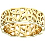 Luisant 9ct Yellow Gold Band Ring