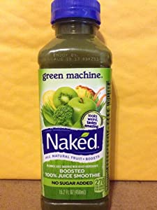Amazon.com : Naked Smoothie Green Machine 15.2 Fl Oz (8 Pack) : Fruit ...