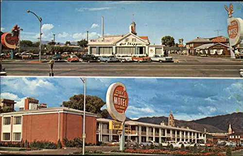 Covey'S New America Motel & Coffee Shop Salt Lake City, Ut Original Vintage Postcard