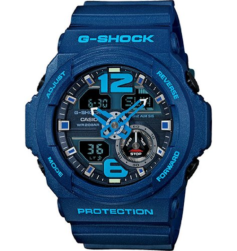 G-Shock Men's GA310 Classic Series Quality Watch - Blue / One Size