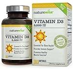 NatureWise Vitamin D3 5,000 IU, 360 S...