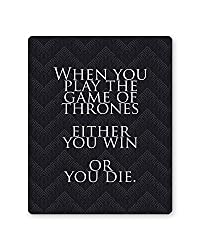 PosterGuy Game Of Thrones Quote TV Series Inspired Mousepad
