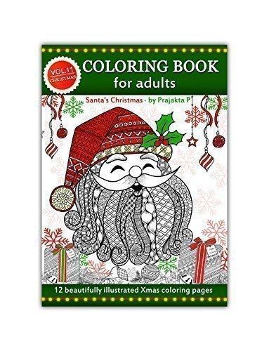 adult-coloring-book-santas-christmas-volume-11-by-prajakta-p-spiral-bound-christmas-coloring-book-wi