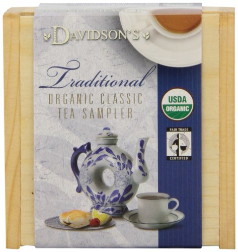 Davidson'S Tea Traditional Sampler Tea Chest, (Pack Of 6)
