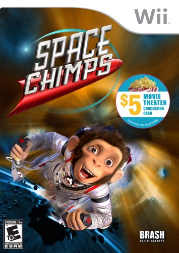 Space Chimps - Nintendo Wii - 1