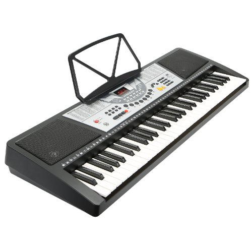 Hamzer 61 Key Electric Music Keyboard Piano - Black