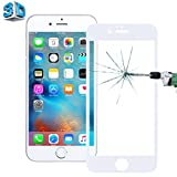 0.26mm 9H Surface Hardness 3D Explosion-proof Tempered Glass Screen Film for iPhone 6 & 6s (White)