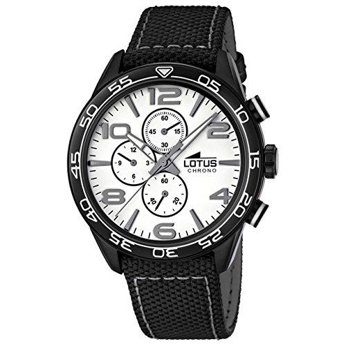 aec6cdd3cf9d Lotus Men s Quartz Watch 15780 1 with Leather Strap .