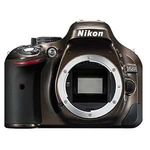 Nikon D5200 Appareil photo numérique Réflex 24,2 Mpix Boîtier Nu Bronze