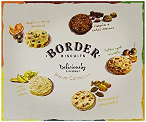 Border Biscuits Deliciously Different Rectangle Box 400 g