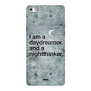 Cute Knight Thinker Multicolor Back Case Cover for Micromax Canvas Silver 5