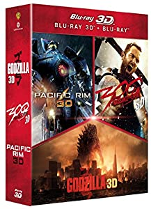 Godzilla + Pacific Rim + 300: la naissance d'un empire [Combo Blu-ray 3D + Blu-ray 2D]