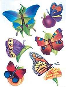 Butterflies Window Clings 12 X 17 No Eu-83603 by Eureka