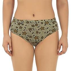 Gujarish Unique Green Cotton Panties