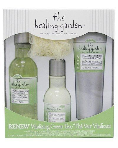The Healing Garden Gift Set, Vitalizing Green Tea