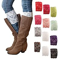 HP95(TM) Womens Stretch Lace Boot Leg…