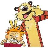 Posterhouzz Calvin & Hobbes Hobbes Calvin Frameless Fine Quality Poster