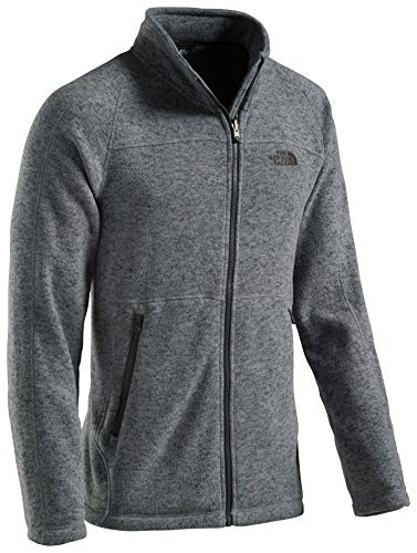 the-north-face-herren-unter-fleece-jacke-alteo-inner-unterjacke-mid-grey-dark-heather-s