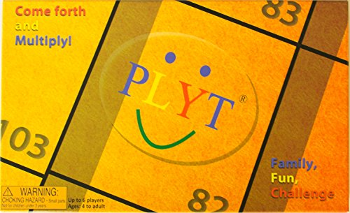 PLYT - the competitive board game the whole family can enjoy - proven to improve maths, endorsed by experts, great competitive fun