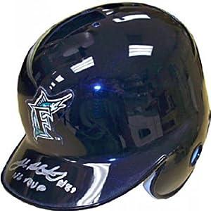 Josh Beckett Autographed Signed Florida Marlins Mini Helmet