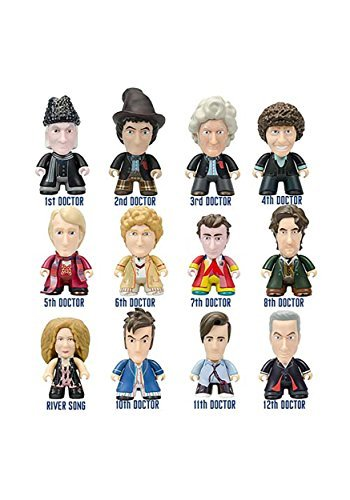 Doctor Who Regeneration Collection Vinyl Mini Figure Mystery Box - 1