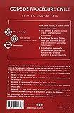 Image de Code de procédure civile 2016. Édition limitée - 107e éd.